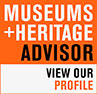 Find us on Museumes+Heritage advisor logo